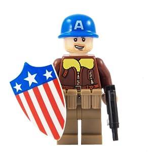 Kleurplaat Lego Captain America Idee 235 N Over Kleurpagina