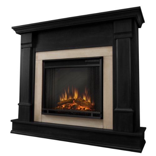 Silverton Electric Fireplace In Dark Mahogany