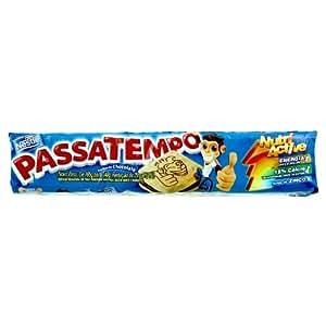 Amazon.com: Chocolate Filled Cookies Passatempo - 4.93oz