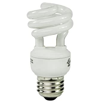 15 Watt Cfl Light Bulb Compact Fluorescent Dimmable 60 W Equal 2700k Warm White Min