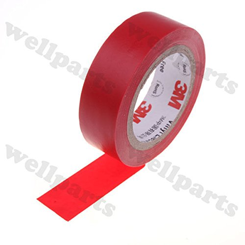 Wonderful offer!!! 3M 1500 Vinyl Electrical Tape Insulation Adhesive Tape Red