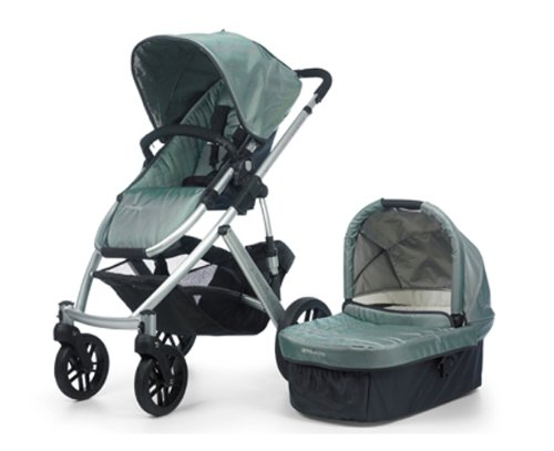 Find Cheap UPPAbaby Vista Stroller, Green/Carlin