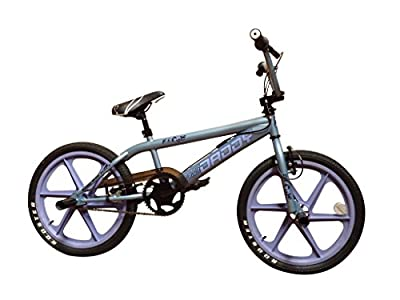 "New Rooster Big Daddy BMX bike Exclusive Model 20"" Wheels 11"" Chrome Frame"