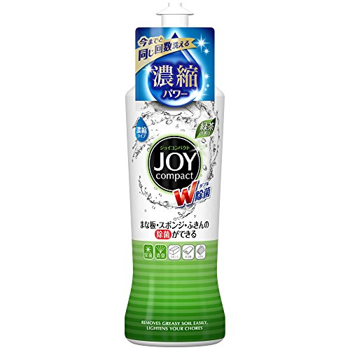除菌ジョイ コンパクト 食器用洗剤 緑茶の香り 本体 200ml
