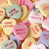 NECCO Large Classic Sweethearts Conversation Hearts, 1 lb Bag in a Gift Box