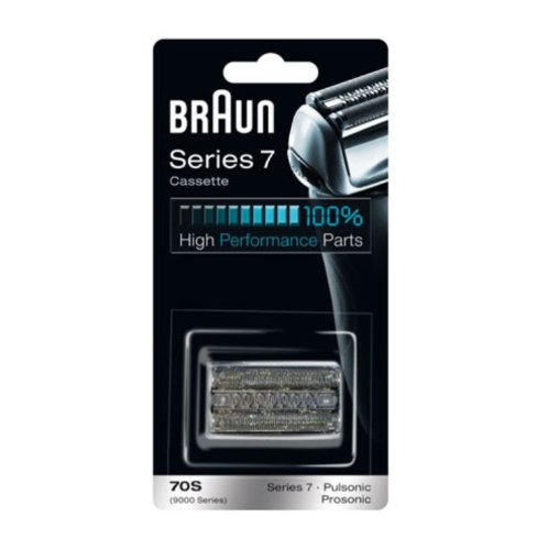 Braun Replacement Foil & Cutter Cassette - 70S, Series 7, Pulsonic - 9000 Series Braun Cassette 70S (Foil For Braun Series 7 compare prices)