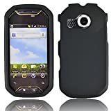 For AT&T Pantech Crossover P8000 Accessory - Rubber Black Hard Case Proctor Cover