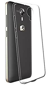 Febelo High Quality Transparent TPU Silicon Back Cover For Micromax Canvas Xpress 2