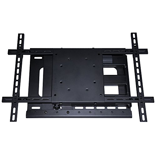 full motion tv wall mount with room correction for off center studs fits 32 to 60 inch tv vesa. Black Bedroom Furniture Sets. Home Design Ideas