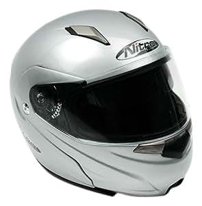Nitro Modular Helmet (Silver, X-Large)