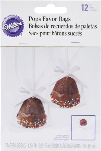 Wilton - Pops Favor Bags 12/Pkg - 1