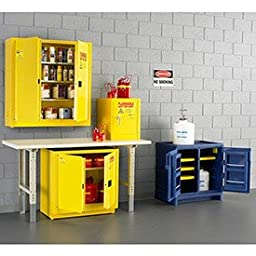 Eagle CRA-P22 Safety Cabinet for Corrosive Liquids, 2 Door Manual Close, 22 Gallon, 36\