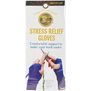 Stress Relief Gloves for Knitters-MEDIUM