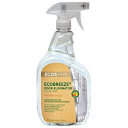 32 oz. Earth Friendly Products ECOSTM PRO EcoBreeze Odor Eliminator, Magnolia Lily (6 Bottle/Case) - BMC-EFP PL9839/6