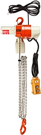 Harrington ED Dual Speed Electric Chain Hoist, Single Phase, Hook Mount