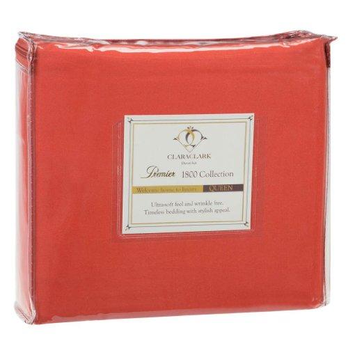 Twin Orange Comforter