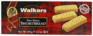 Walkers Shortbread Fingers, 5.3-Ounce Boxes (Pack of 6)