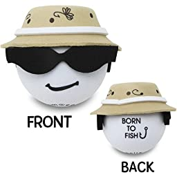 Cool Fisherman Antenna Ball Topper