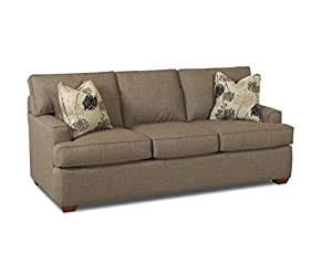 Klaussner stone pantego sofa 80 by 40 by 36 for 80 inch couch