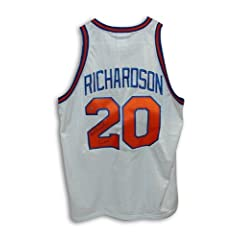Michael Ray Richardson Autographed Hand Signed New York Knicks White Throwback Jersey... by Hall of Fame Memorabilia