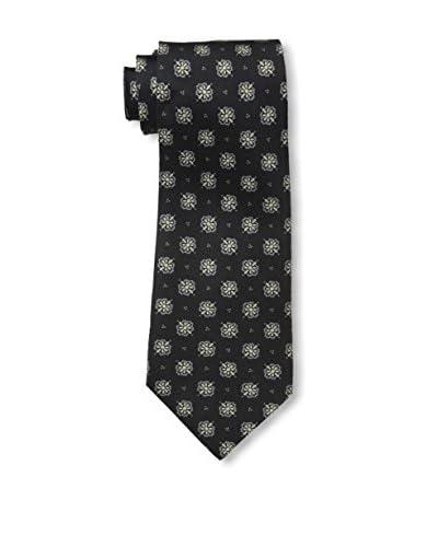 John Varvatos Floral Tie, Black