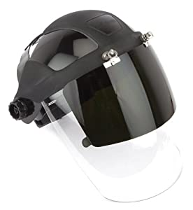 Forney 58615 Face Shield and Flip Down for DP4, Shade-5 - Eye ...