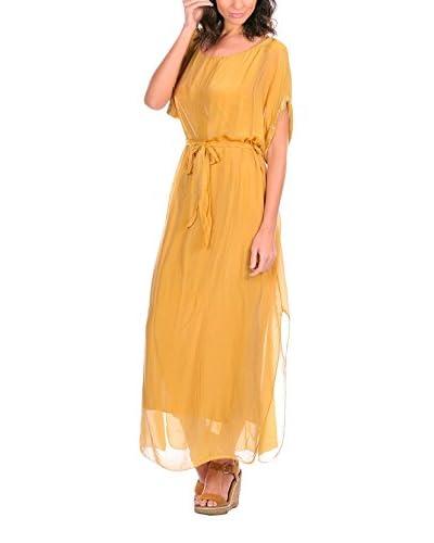 Silk Vestido Lisa