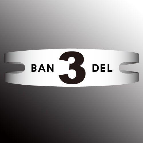 BANDEL 반델 팔찌 반델 목걸이 BRACELET 팔찌 넘버 시리즈 No.3 화이트 L(19cm)