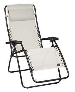 Lafuma lfm1226 6452 fauteuil relax pliant jardin - Relax de jardin lafuma ...