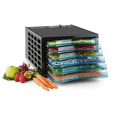 Deluxe Electric 650W 6-Tray Food Dehydrator Preserve Fruit Sausage Jerky Dryer (Lumina Oven compare prices)