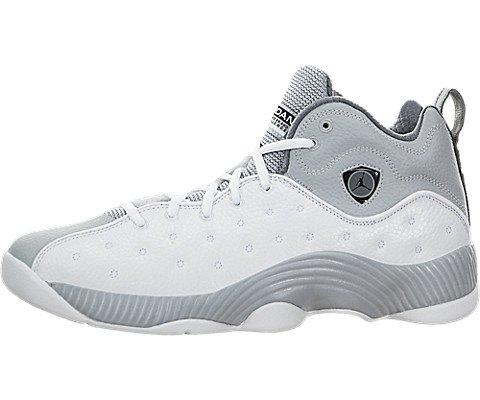 Nike Men's Jordan Jumpman Team II Basketball Shoe White/Black/Wolf Grey/Cool Grey 10.5 (Amazon Jordan Shoes compare prices)