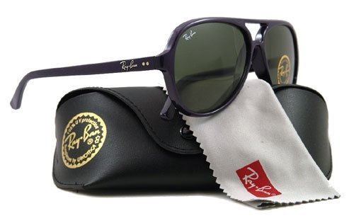 AUTHENTIC RAY BAN SUNGLASSES RB 4125 CATS 5000 PURPLE 737