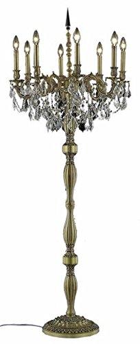 """Reynard 8-Light 24""""D Crystal Floor Lamp 7827Fl24Fg-Ec"""