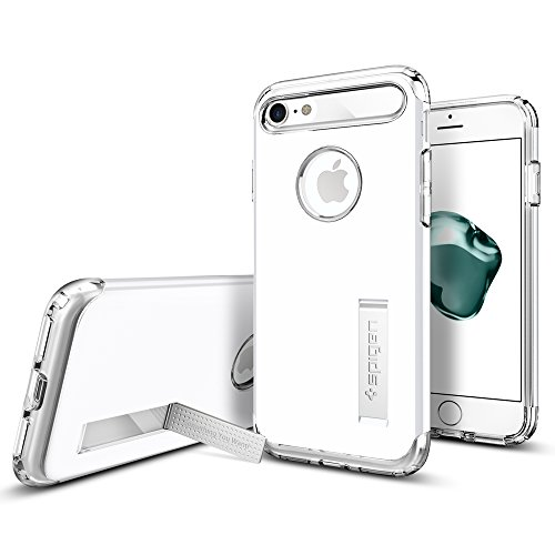 Spigen-Slim-Armor-iPhone-7-Case-with-Air-Cushion-Technology-and-Hybrid-Drop-Protection-for-iPhone-7-Jet-White