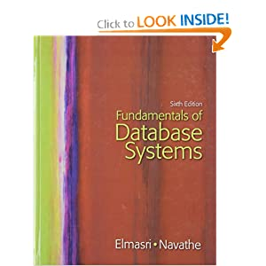 Solution manual fundamentals of database systems 6th edition.