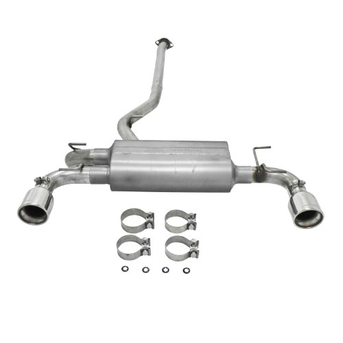 Flowmaster 817596 American Thunder 409S Stainless Steel Moderate Sound Rear Dual Exit Cat-back Exhaust Kit