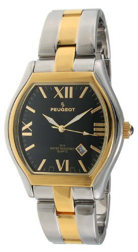 Peugeot Men's 1008TT Two-Tone Bracelet Watch