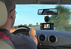 "2.7"" TFT LCD Dual Camera Rotated Lens Car Security Camera Recorder Dash Cam by inDigi"
