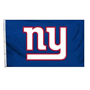 NFL New York Giants Logo Flag with Grommets, 3 x 5-Foot by BSI