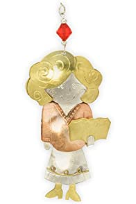 Pilgrim Imports Teacher Metal Fair Trade Ornament