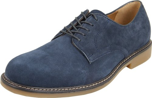 Bass Men's Brockton Oxford,Dark Navy,10 M US