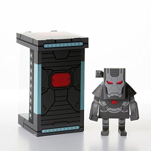 momot paper craft toy marvel iron man 3 war machine 5 inch m size