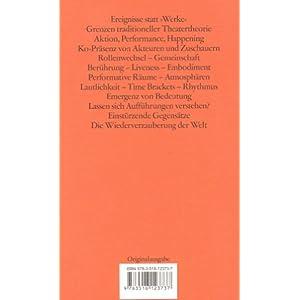 Ästhetik des Performativen (edition suhrkamp)