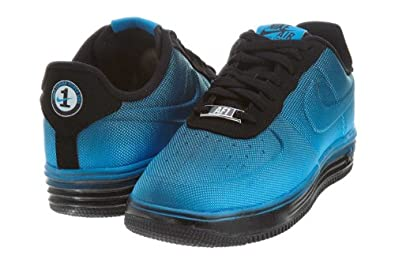 Nike Lunar Air Force 1 VT Mesh (GS) Boys Basketball Shoes 599232-400 by Nike