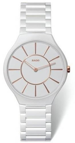 Rado True Thinline Ceramic Ladies Watch R27958102