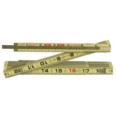 Red End Extension Rulers - 8ft red end ext rule