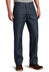 Levi's Men's 501 Colored Rigid Shrink-to-Fit Jean (Clearance), Blue Green Rigid