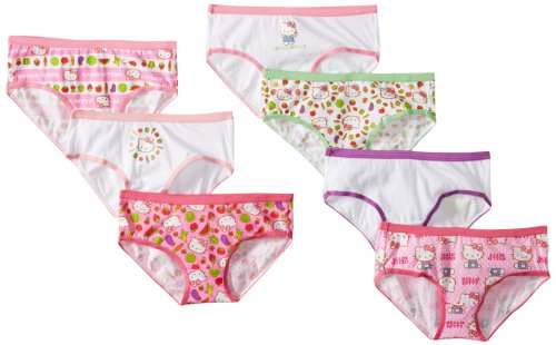 Handcraft Little Girls' Hello kitty hipster (Pack of 7), Assorted, 8