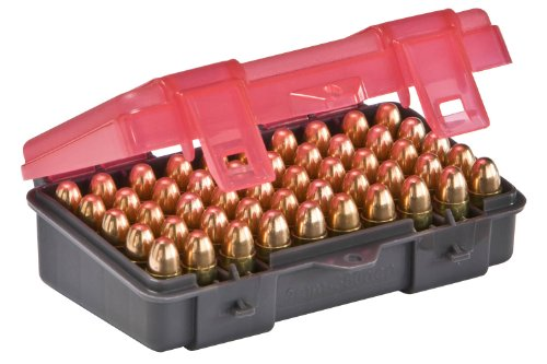 Great Deal! Plano 50 Count Handgun Ammo Case (for 9mm and .380ACP Ammo)