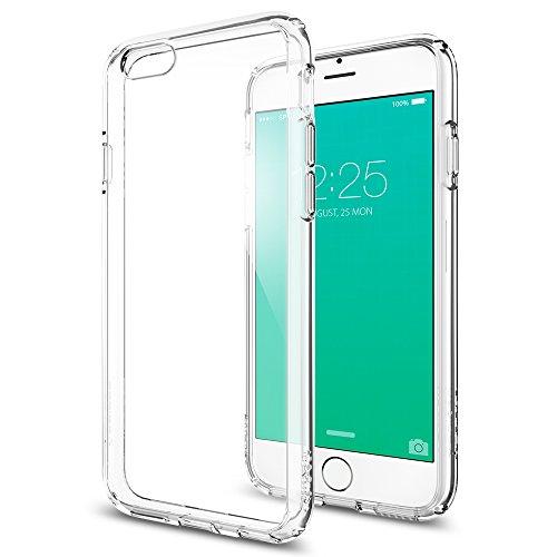 iPhone6S ケース, Spigen® [背面 クリア] ウルトラ・ハイブリッド Apple iPhone6S ケース (国内正規品) (2015) (iPhone6, クリスタル・クリア 【SGP11598】)